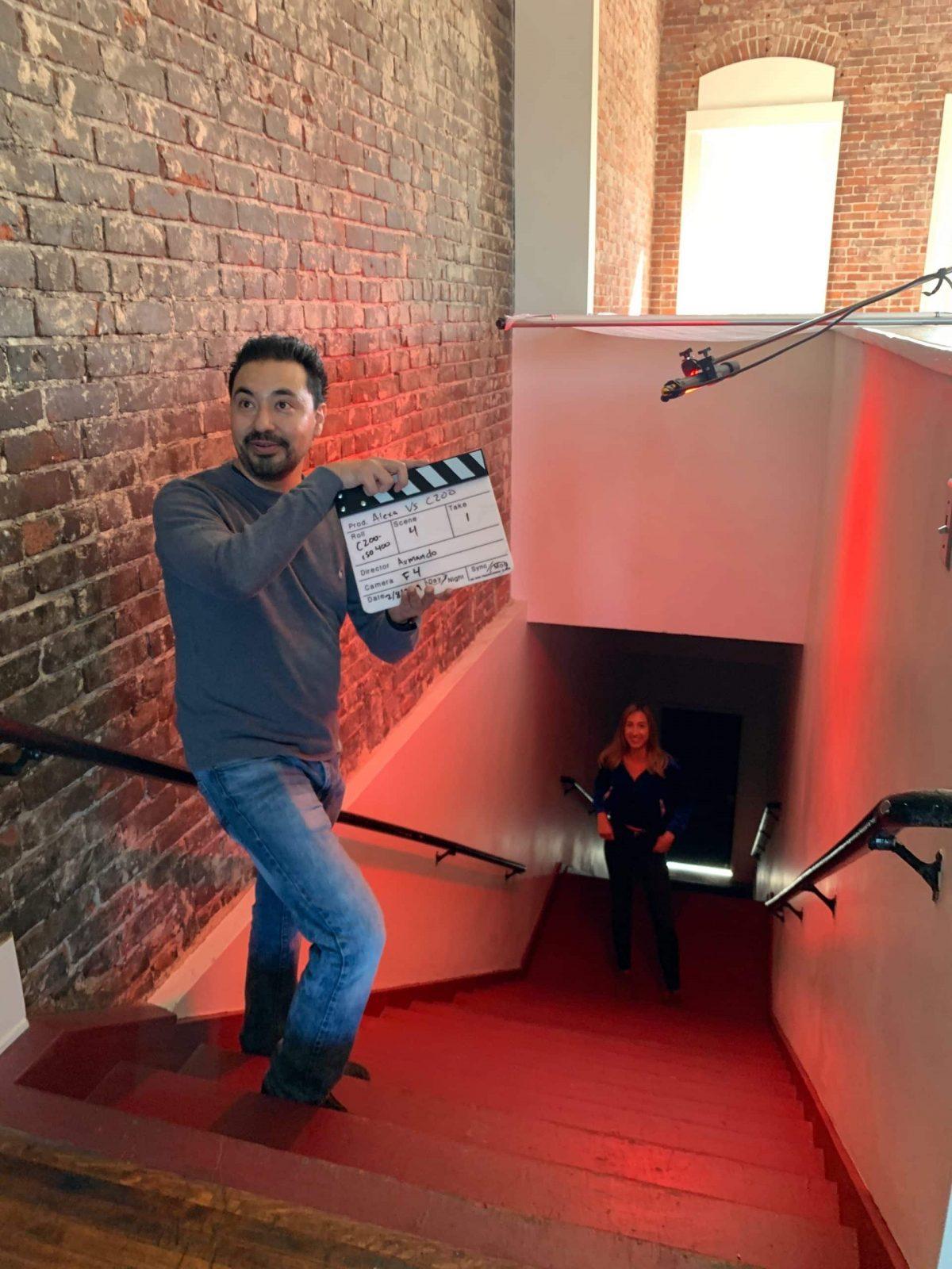 studio space video shoot