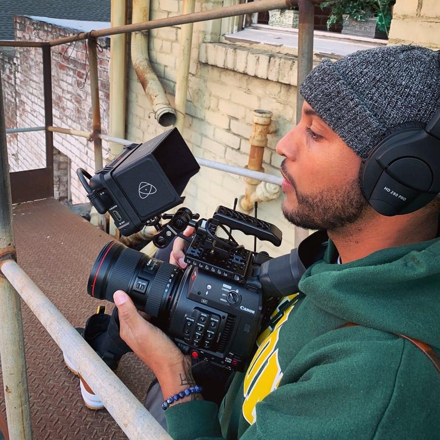 studio space outdoor video shoot